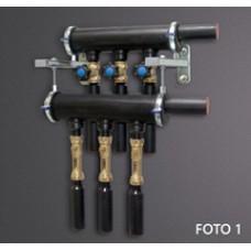 Настенный GEO RS  344RB коллектор с ротаметрами